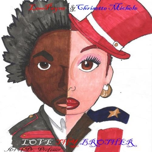 ChrisetteMichele-90210MarilynMonroe